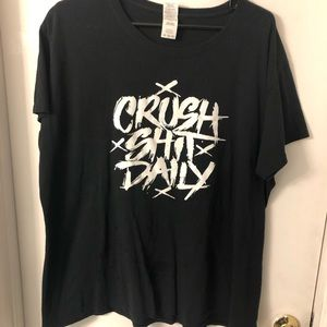 Women's plus size 3X black shirt